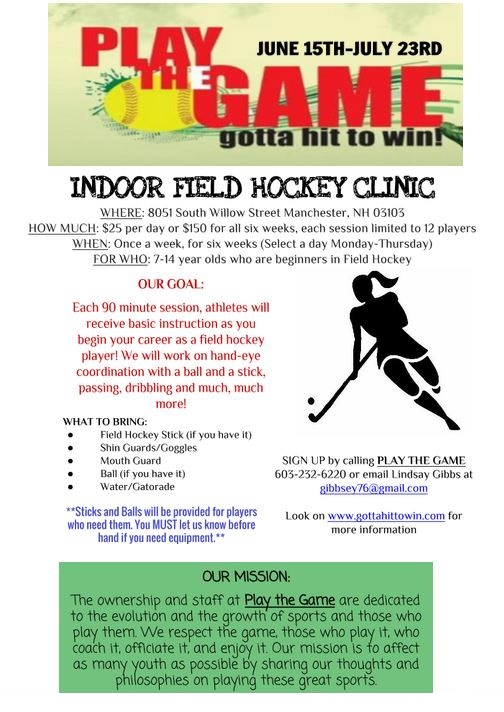 Indoor Field Hockey 2015 Flyer (1)